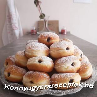 Csokipudingos fánkocskák Fánkinfótol recept