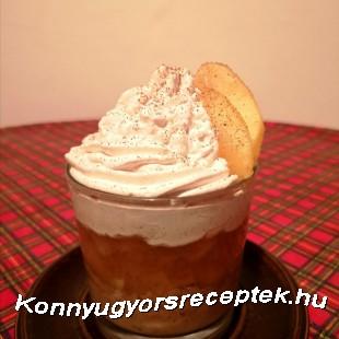 Fahéjas almás pohárdesszert recept