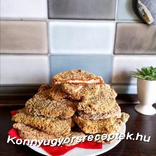Rántotthús gluténmentes magyaros bundában recept