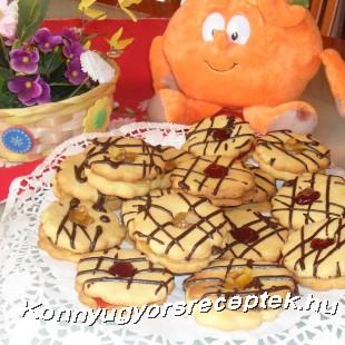 Narancsos linzer  recept