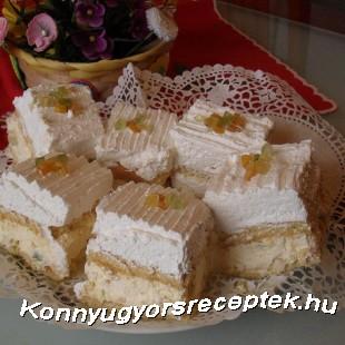 Orosz krém kocka recept