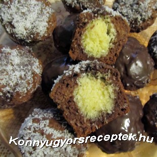 Bounty muffin, gluténmentesen recept