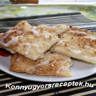Ropogós sütemény (gyors) recept