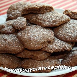 Földimogyorós keksz recept