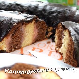 Méteres sütemény recept