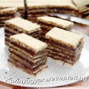 Hatlapos süti recept