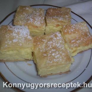 Krémes házilag készítve recept