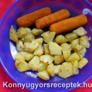 Krumpli fűszerezve recept