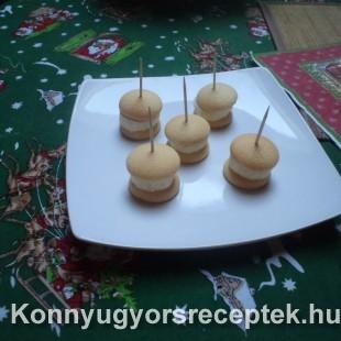 Banános piskóta tallér 2 recept
