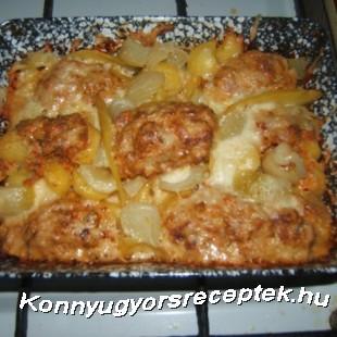 Töltött burgonya recept