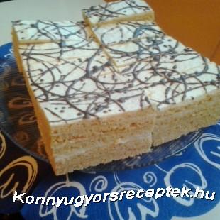 Vaníliás Szelet recept