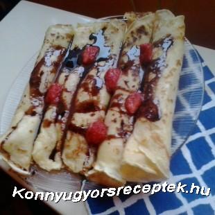 Csokis-Almás Álom Palacsinta recept