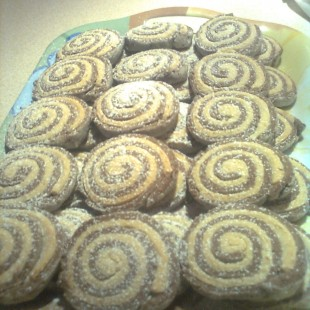 Kétszínű keksz recept