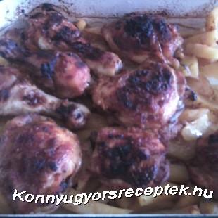 Fokhagymás csirkeszárny recept
