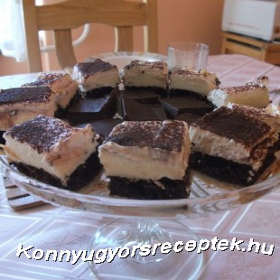 Csupa csoki kocka recept