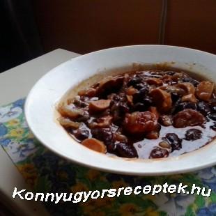 Chilis bab Gazdagon recept