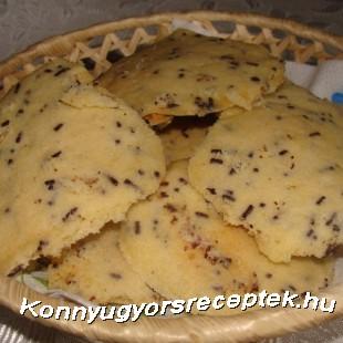 Mikróban sült keksz recept