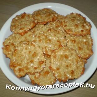 Diétás sajtos zabpehelytallér recept