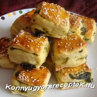 Medvehagymás pogácsa recept