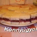 A nagyi meggyes sütije recept