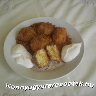 Kapros túrógombóc recept