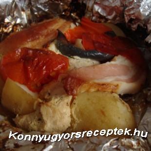 Batyus csirke recept