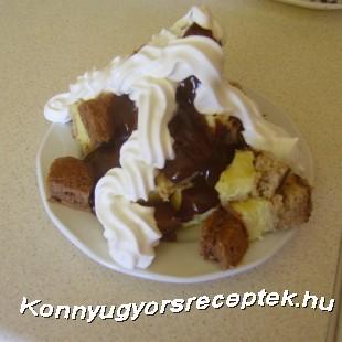 Somlói galuska házilag recept