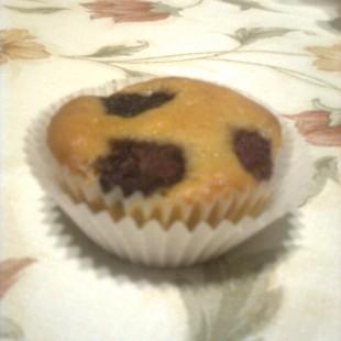 Málnás-joghurtos muffin recept