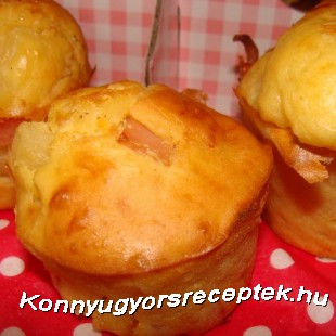Hawai muffin recept