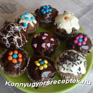 Étcsokis muffin recept
