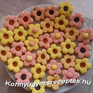 Viráglinzer recept