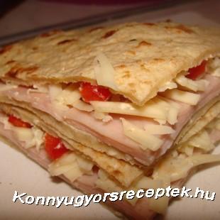 Gyúró szendvics recept