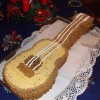 Gitár torta ( 4 laposd csokikrémes)