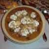 Aszalt szilva leves édes grízgaluskával