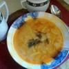 Nyári kapros zöldbab leves